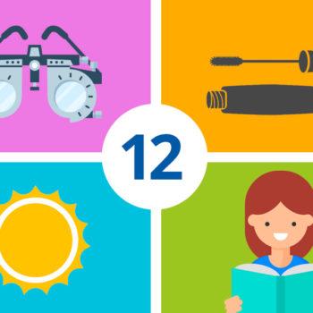 12 Consejos para cuidar tus ojos